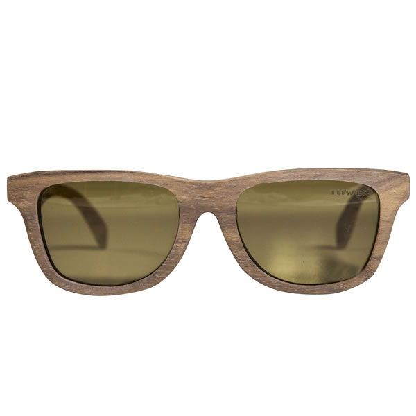 Huntington Surf Style Wood Sunglasses