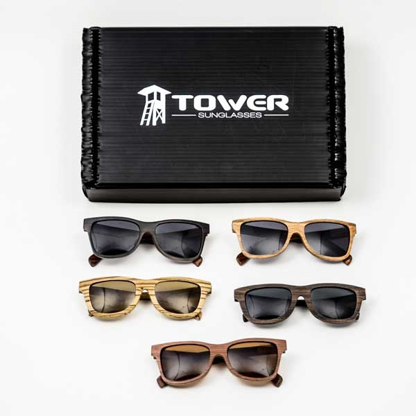 Wood Sunglasses Shop In A Box By Tower - What is an invoice number eyeglasses online store